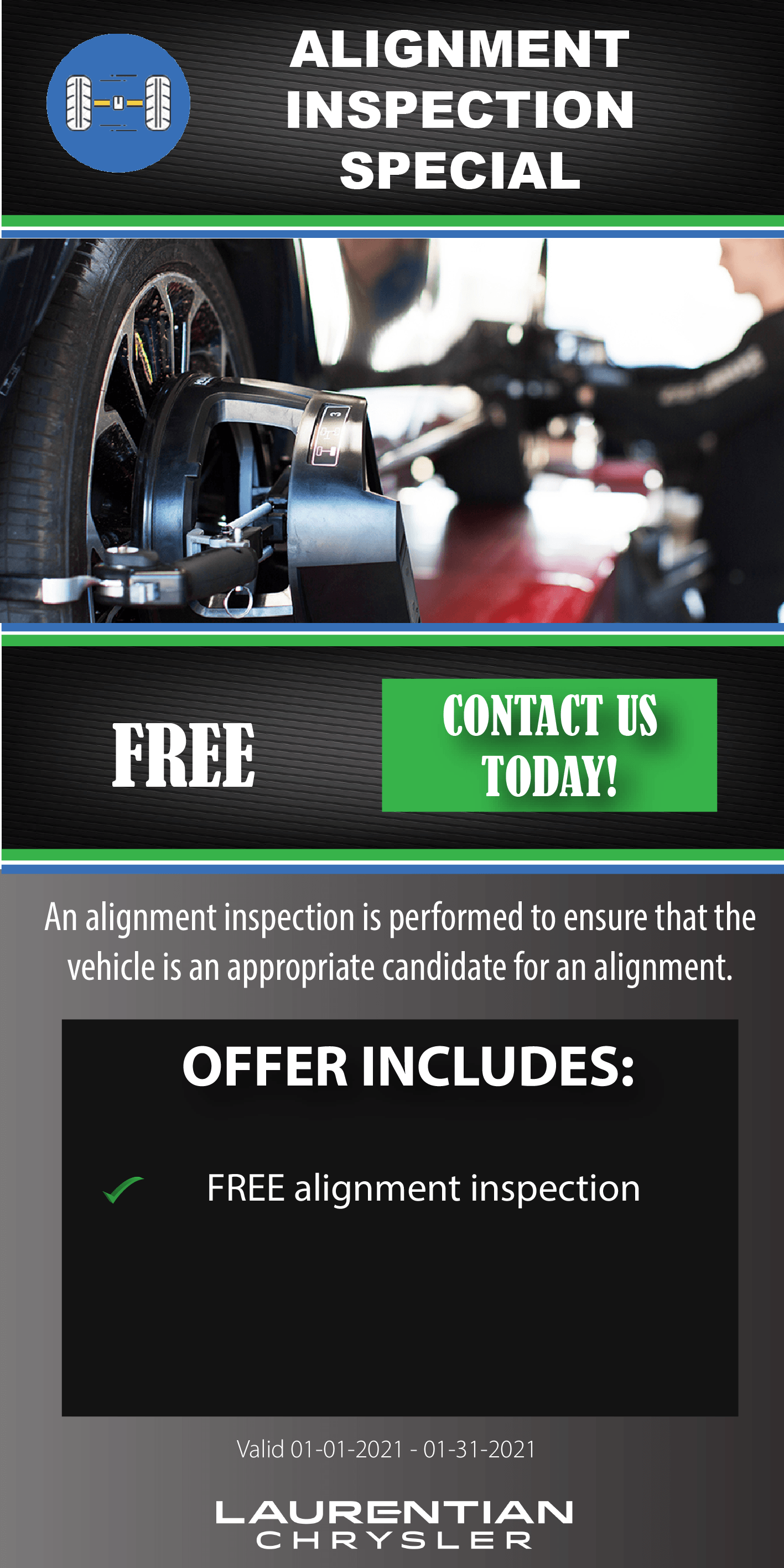 Alignment Inspection Special